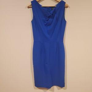 Tahari Arthur S Levine blue dress 2